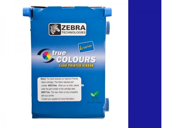 Zebra Value Line Eco Farbband blau monochrom