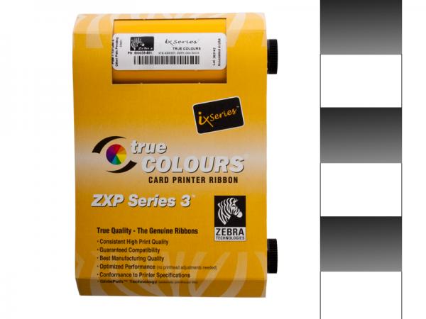 Zebra ZXP Series 3 Farbband KdO Graustufen
