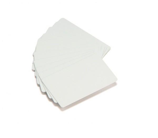 Plastikkarten PVC weiß 0,254 mm