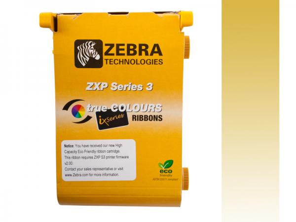 Zebra ZXP Series 3 ix Eco Farbband Gold monochrom