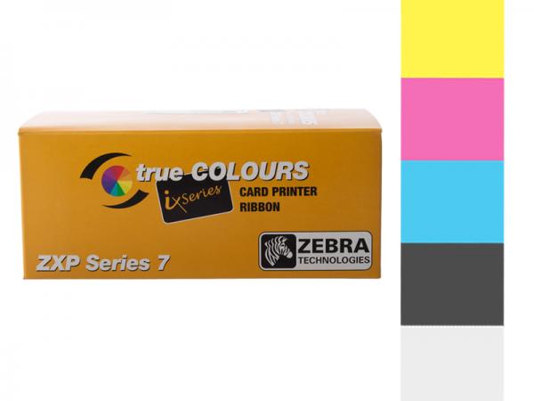 Zebra ZXP Series 7 Farbband YMCKO 800077-740EM