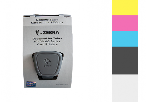 Zebra Farbband ZC Series 1/2 YMCKO 800350-370EM