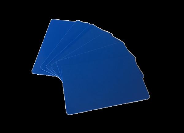 Zebra Premier Karten blau 0,76mm