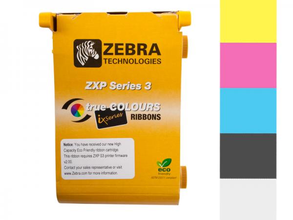 Zebra Series 3 ix Eco Farbband YMCKO vollfarbig