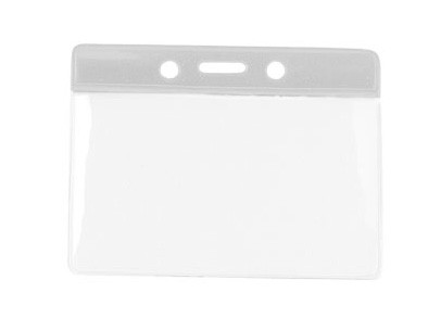 Kartenhalter Vinyl Querformat transparent