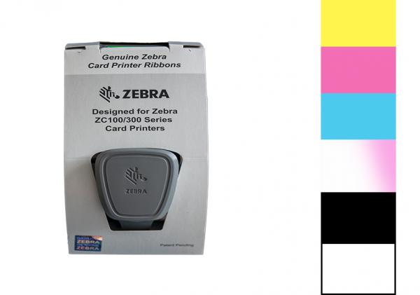 Zebra Farbband ZC Series YMCPKO 800350-562EM