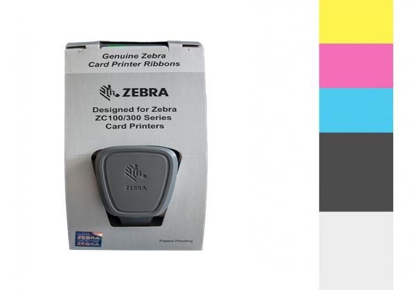 Zebra Farbband ZC Series 1/2 YMCKO 800300-370EM