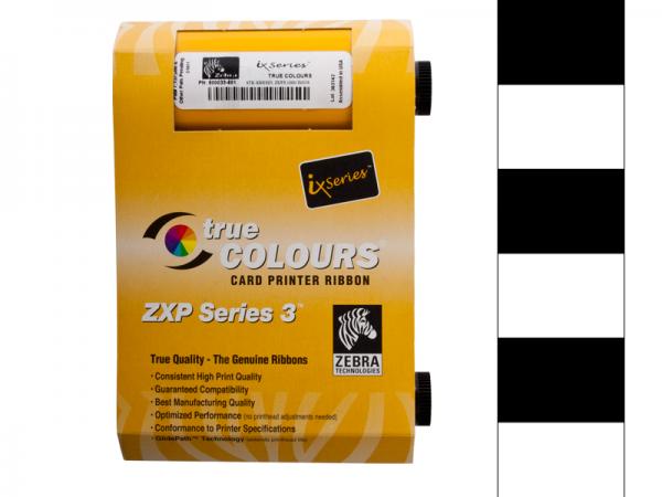 Zebra ZXO Series 3 Farbband KrO Schwarz Overlay