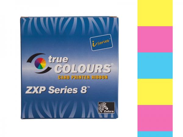Zebra ZXP Series 8 Farbband YMC vollfarbig
