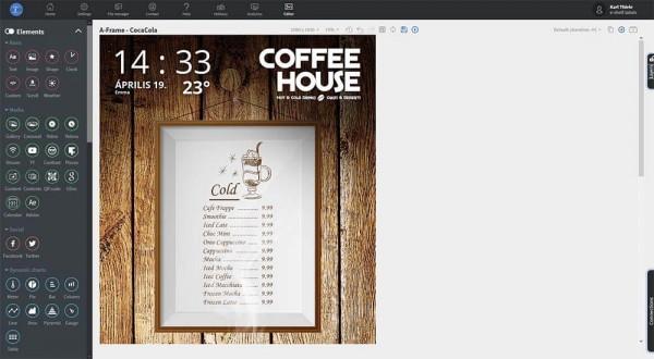 Softwarelizenz für Digital Signage Bildschirme